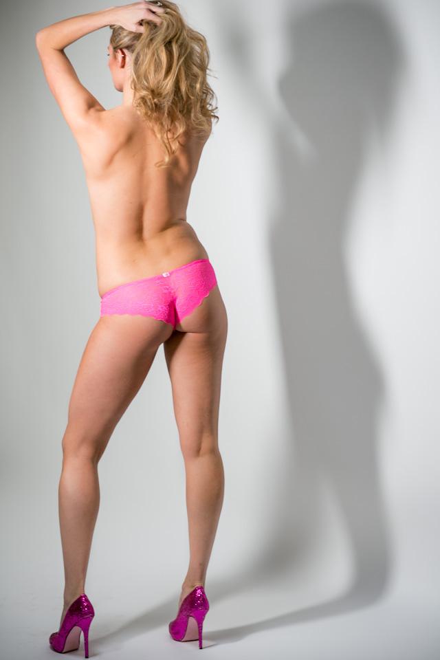 Photo of Miss A at her Peekaboo Portland Boudoir Photoshoot