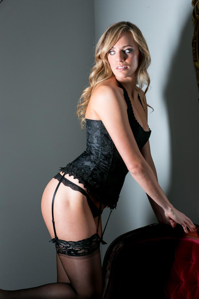 Miss A Peekaboo Portland Boudoir Photography