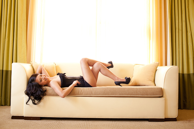 Peekaboo Portland Boudoir Photography - Miss E