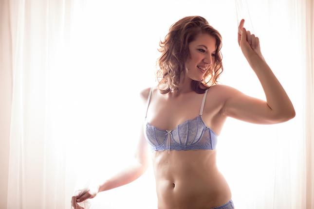 Peekaboo Portland Boudoir Photography - Miss J