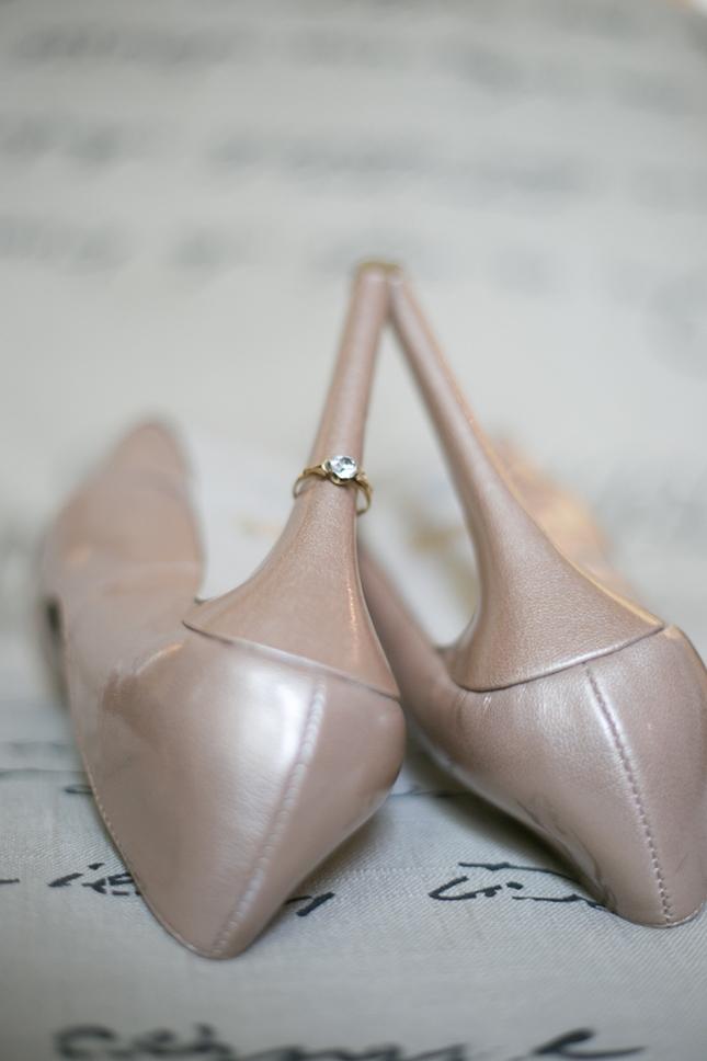 Promo_Images-4Peekabo Portland Boudoir PhotographyTan Shoes with Ring