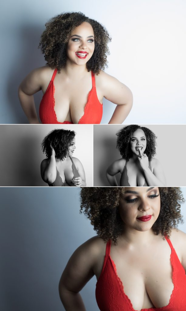 Sexy and inclusive boudoir session